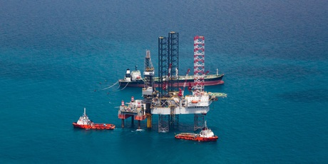 Offshore oil wells